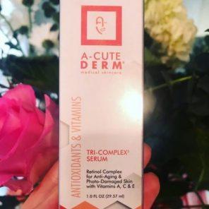 retinol serum a-cute Derm