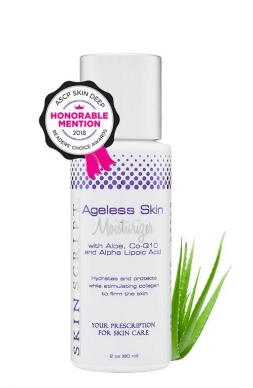 ageless skin moisturizer by skin script
